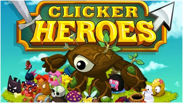 Clicker-heroes on gaming laptop