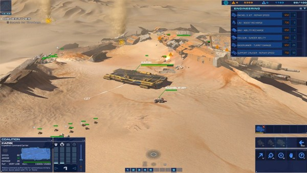 Homeworld Deserts of Kharak gameplay screenshot