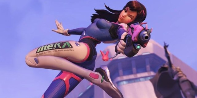 Overwatch D.VA screenshot