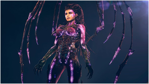 Sarah Kerrigan of StarCraft