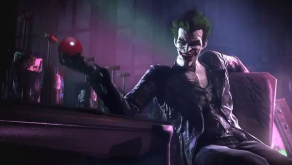 The Joker in Batman Arkham screenshot