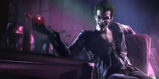 The Joker in Batman Arkham screenshot
