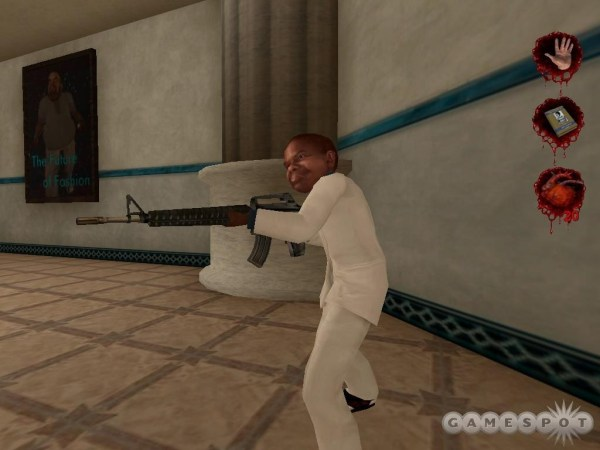 Gary Coleman with Assault Rifle in Postal 2