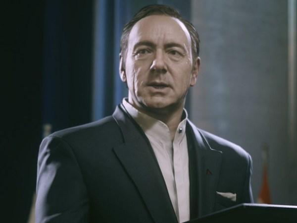 Kevin Space Cameo Speech in Infinite Warfare