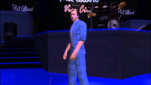 Phil Collins Sings in Vice City