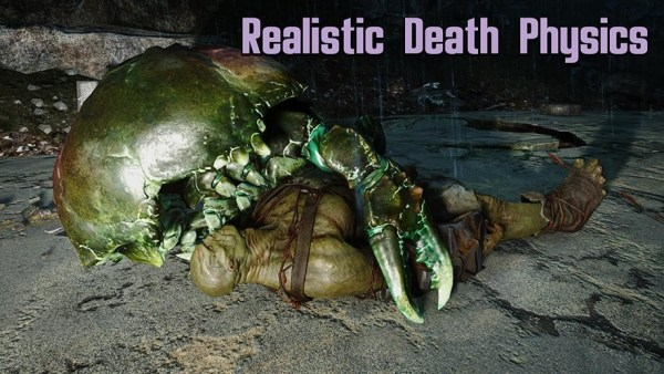 Realistic Death Physics by mm137