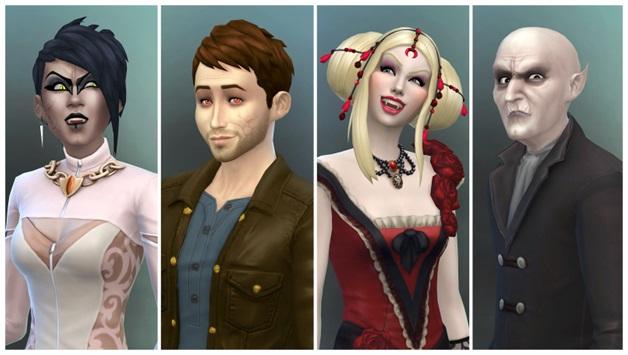 Sims 4 Vampires