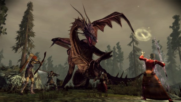 Dragon Age gameplay screenshot.