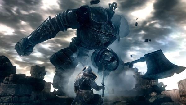 Dark Souls boss battle screenshot