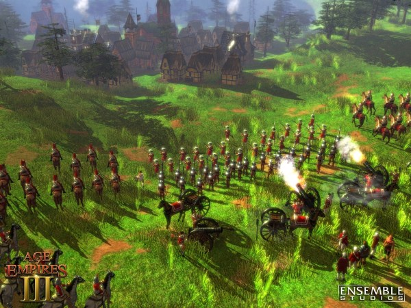 Screenshot of Age of Empires III
