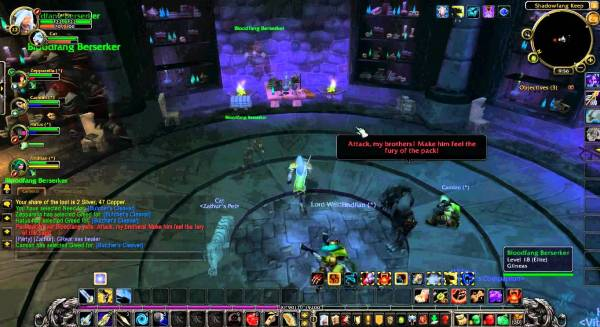 A screenshot of World of Warcraft.