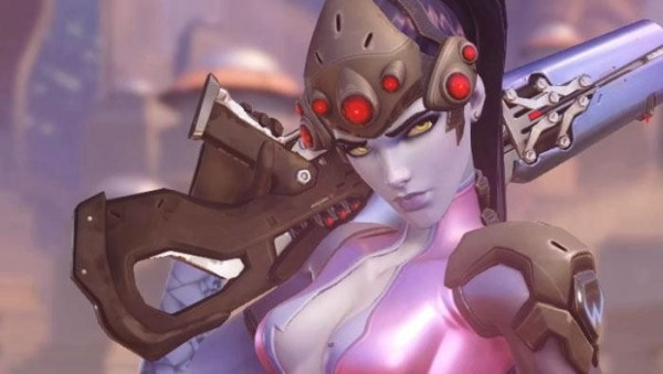 Widowmaker screenshot from Overwatch