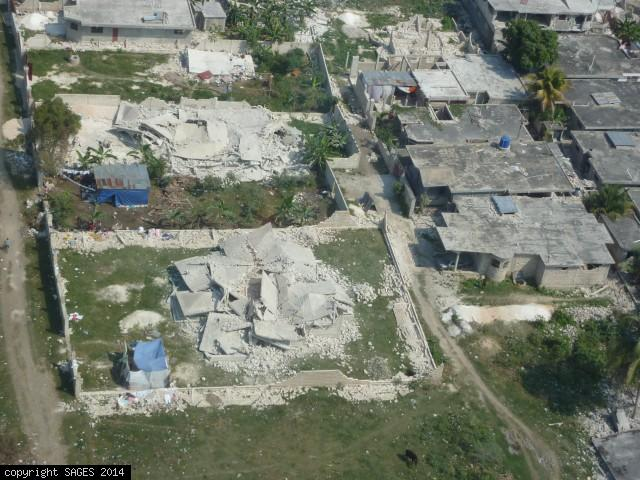 Leogane home destroyed