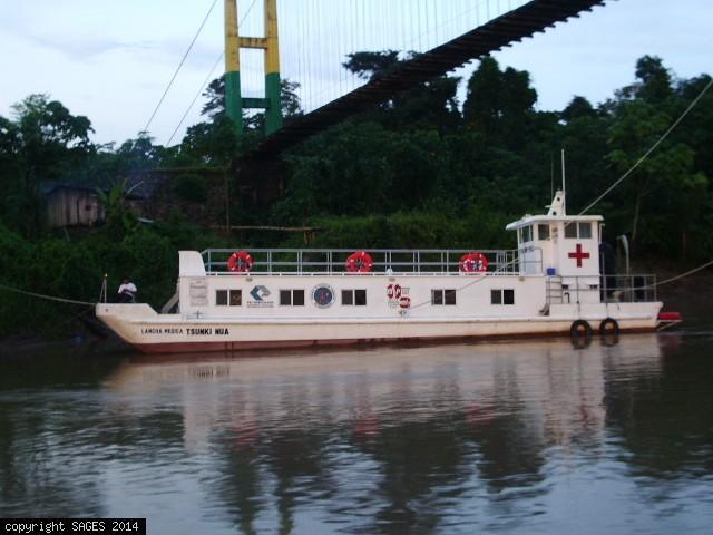 Tsunka Nua, Operating houseboat Amazon Jungle