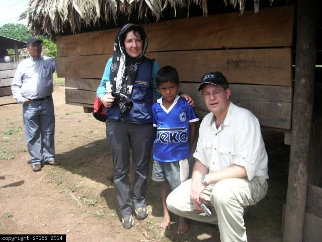 Visiting villages Amazon Jungle