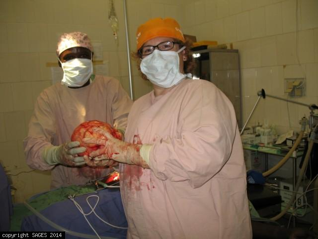 Huamniatarian Surgery with MSF