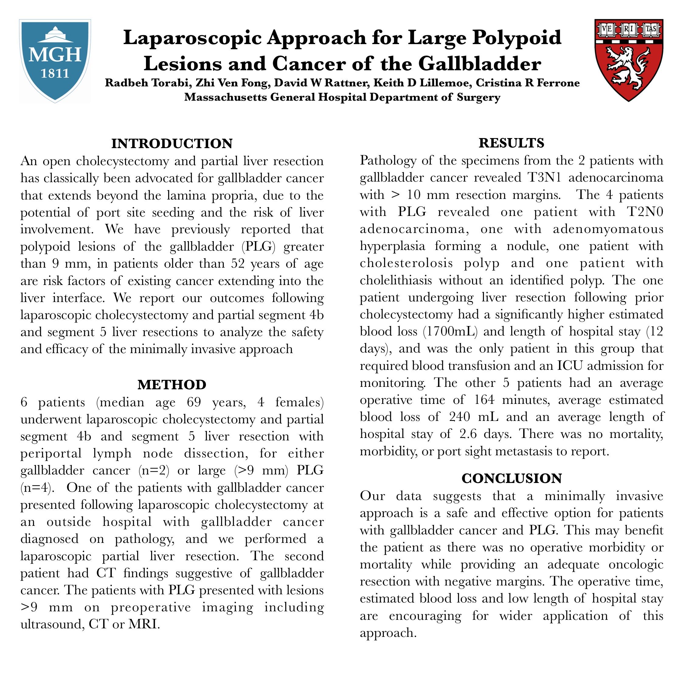 Laparoscopic Approach for Large Polypoid Lesions and Cancer of the