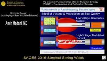 Fundamentals for the Use of Surgical Energy (FUSE): Fundamentals of
