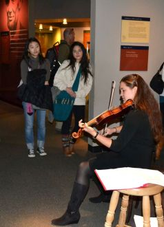 Performing my program on Civil War music at the Smithsonian National Museum of American History