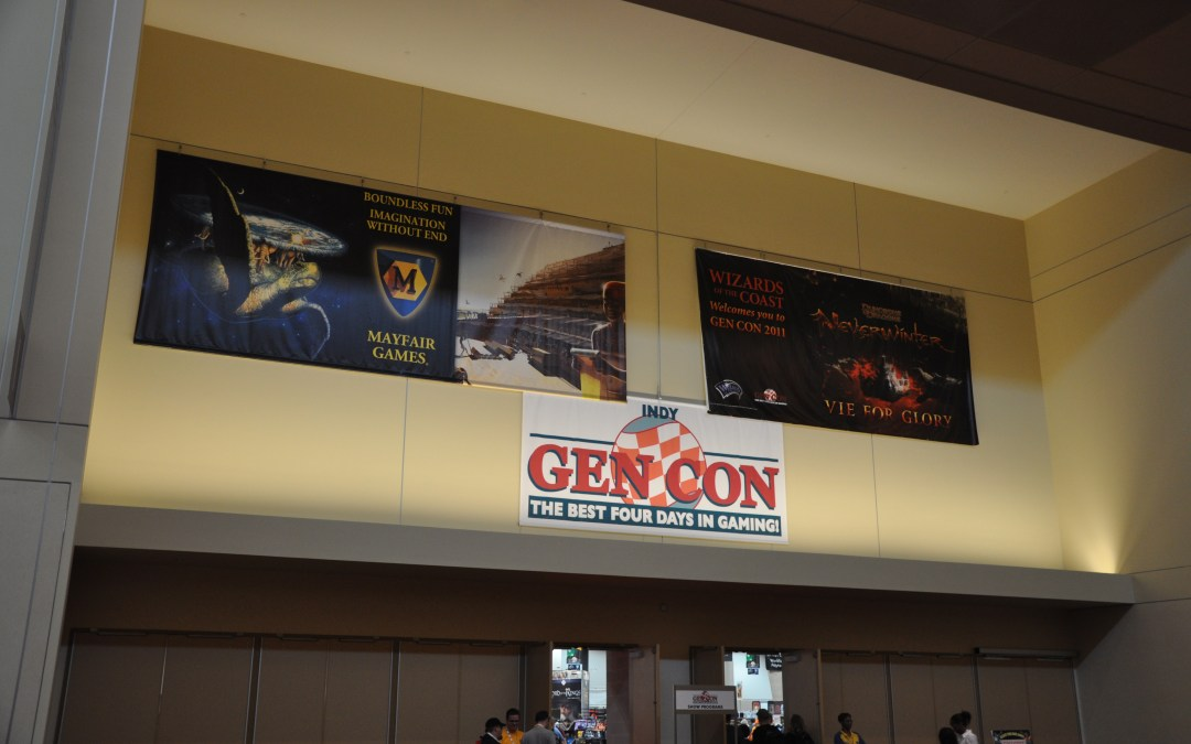 GenCon – Day 1 Quick Recap