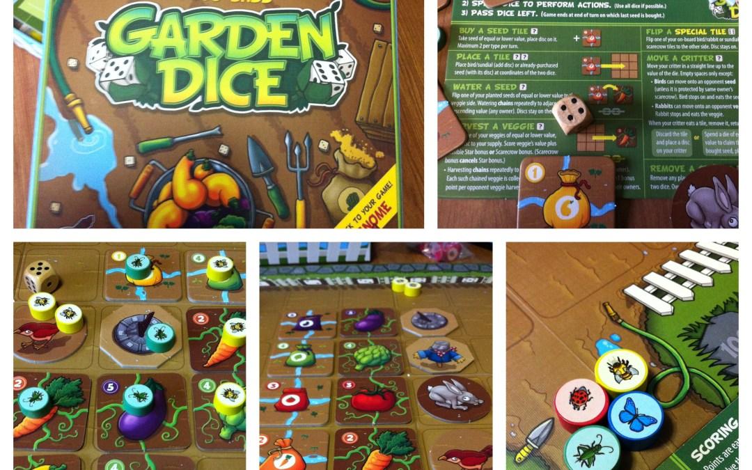 Reviews in a Nutshell: Garden Dice
