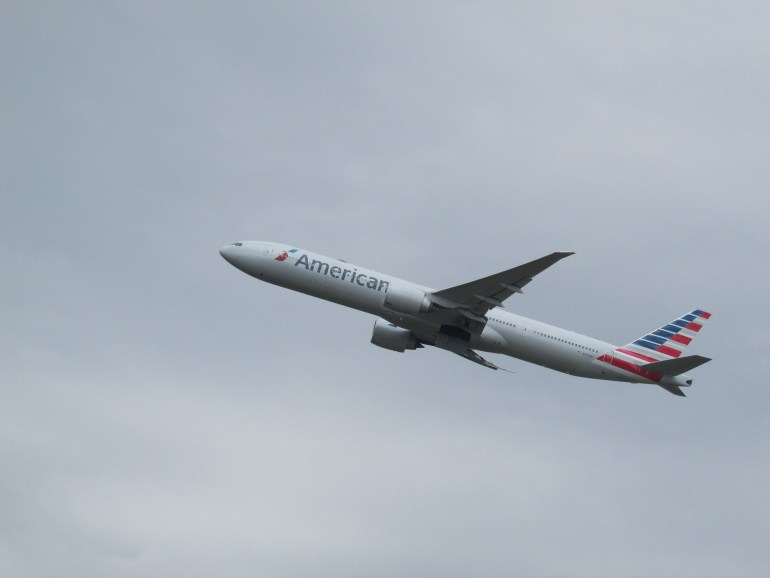 Washington-Bound American Airlines delayed for over 4 hours due to urine smell