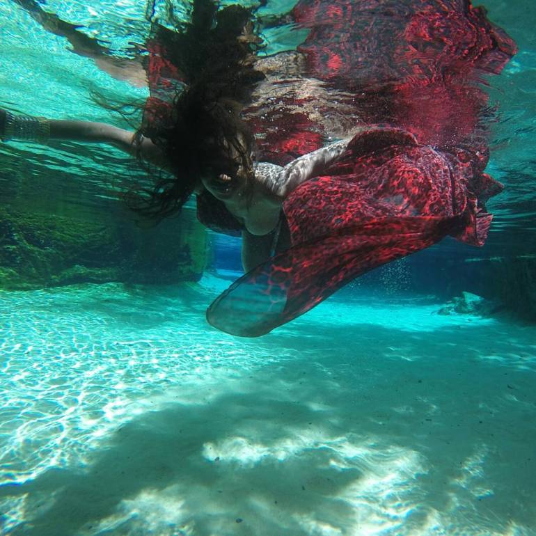 Beautiful Underwater Video & Photos of Yankari Wikki Warm Springs, Bauchi State