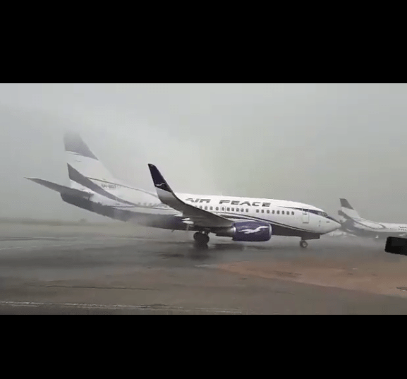 Air Peace Celebrates Captain Geoffrey Ogbogu 40 years Of flying Airplane (Pictures, Video)