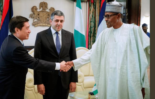 President Muhammadu Buhari Receives The United Nation World Tourism Organization General Secretary Mr Zurab Pololikashvili At The State House