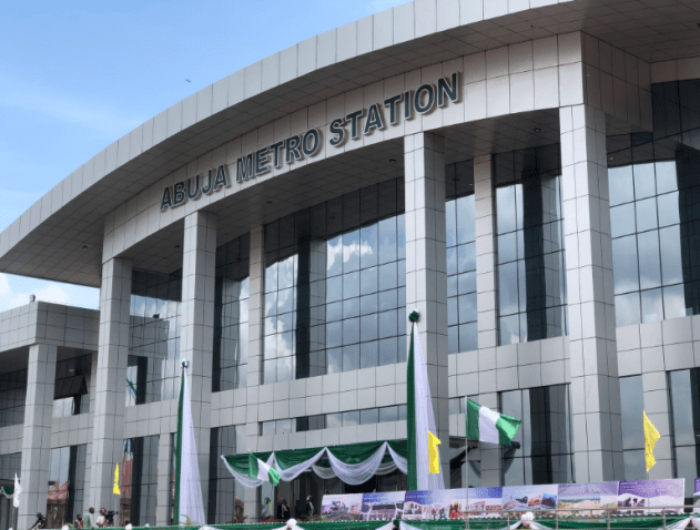 Pictures of the Abuja Light Rail and Stations