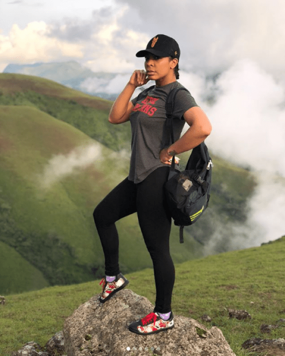 Tboss Idowu Encounters God On The Holy Mountain, Obudu Mountain Resort (Video)