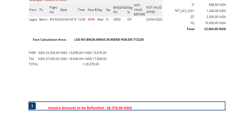 Why You Should Not Refund Arik Air Ticket