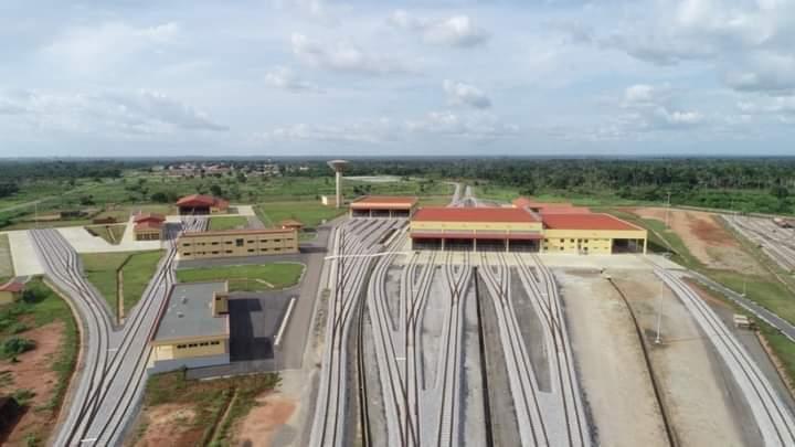 The train rail