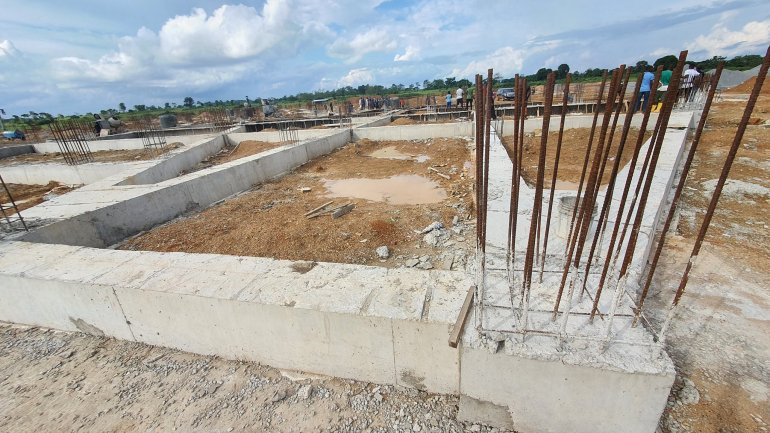 Ebonyi State International Airport site building