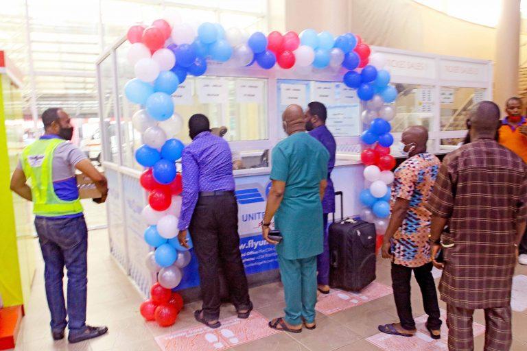 Photo: United Nigeria Airline Inaugural Flight