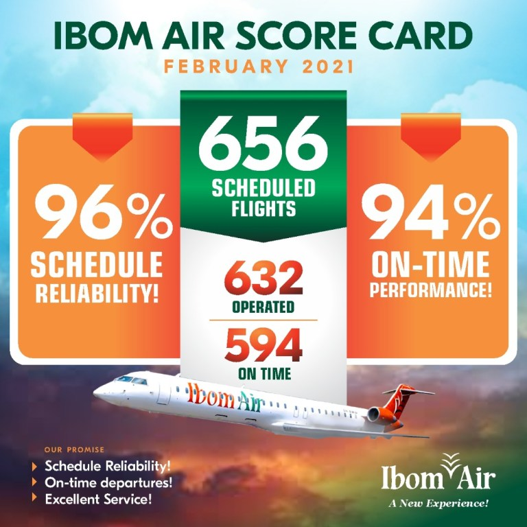 Nigerians Praise Ibom Air On-Time Flight Departure