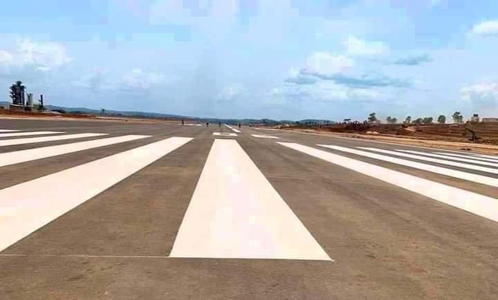 Anambra International passenger and Cargo Airport runway