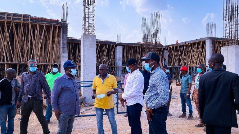 Ebonyi State International Airport Building Work in Progress