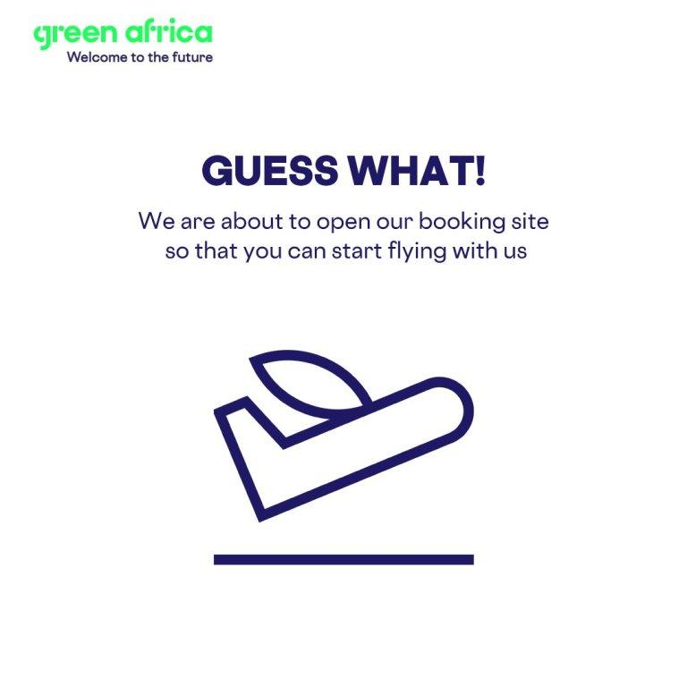 Green Africa To Start Flights on 24 June, Offer 10% Discount