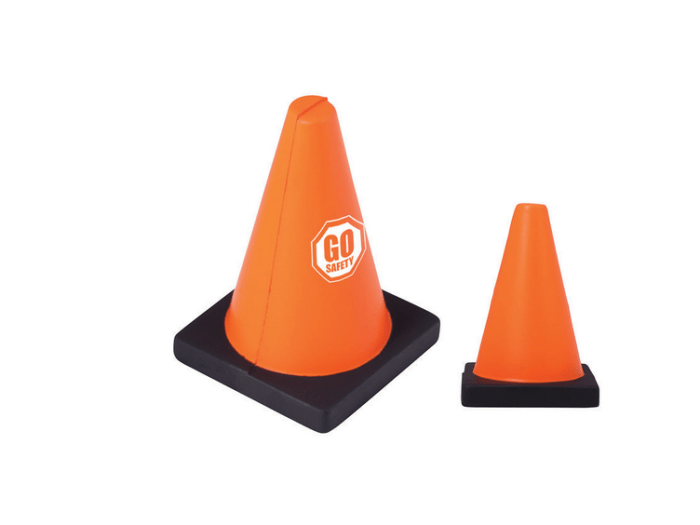 Cone-Shaped Stress Reliever