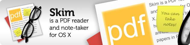 skim modifica pdf in osx