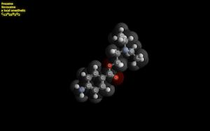 Molecule, visualizza in 3d delle molecole