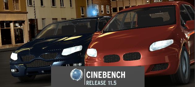 Test benchmark mac cinebench cpu opengl