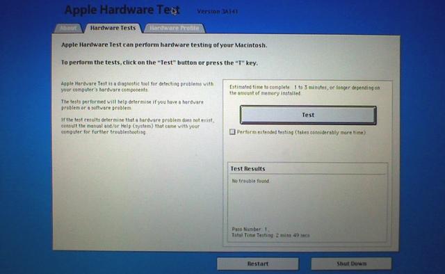 AppleHardwareTest Problemi Mac
