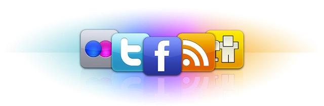 client mac facebook twitter flickr rss