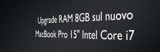 upgrade ram macbook pro