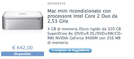 offerta mac mini