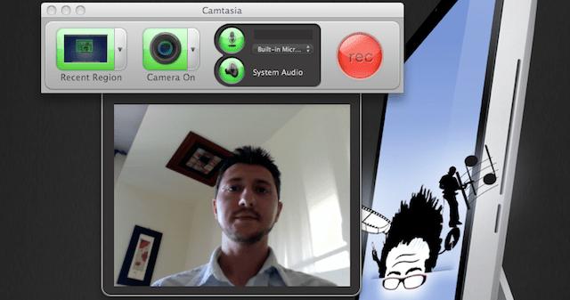 camstasia screencasting con video