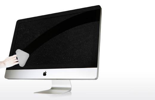pulire imac macbook