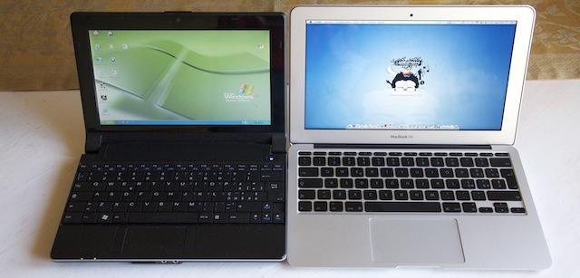 netbook vs air